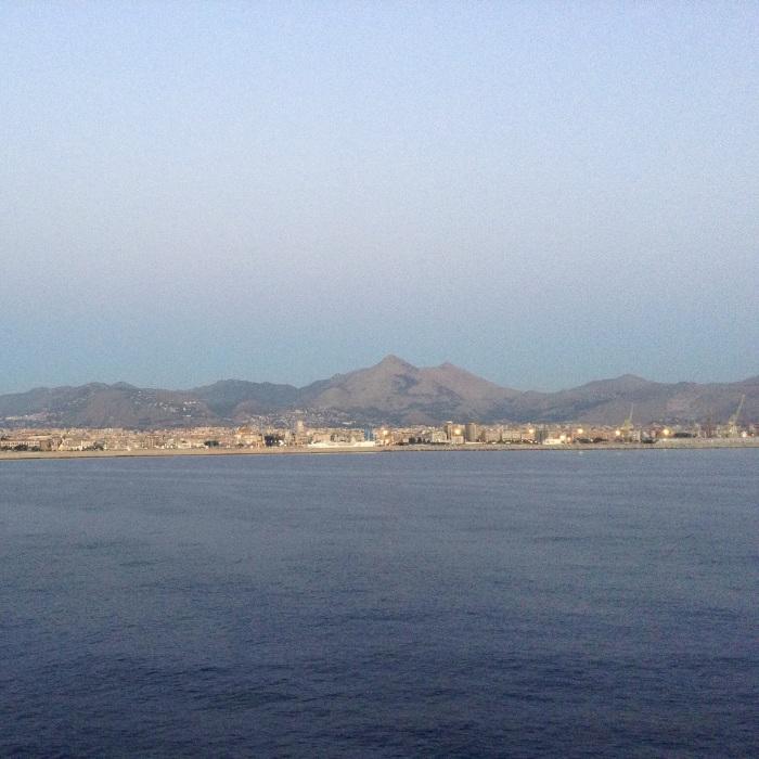 Sicilia dal mare